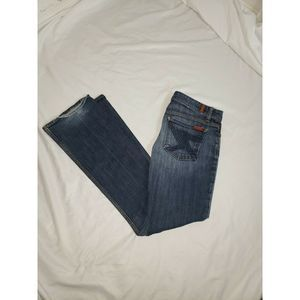 7 For All Mankind Jeans - 7 Seven for All Mankind 27 Flynt Boot Cut Jeans